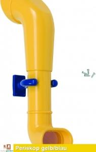 Periskop aus ABS Spritzguss in gelb/blau TÜV geprüft