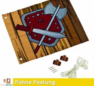 Fahne, Flagge - Hisssystem Festung