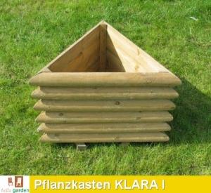 Pflanzkasten aus imprägniertem Kiefernholz Modell KLARA I
