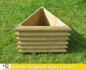 KOMBI Angebot Pflanzkasten KLARA I und KLARA II