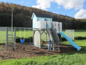 Baumhaus - Stelzenhaus für Kinder aus Holz, Modell Goliath IV