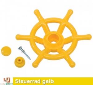Steuerrad, Lenkrad Schiff in gelb TÜV geprüft