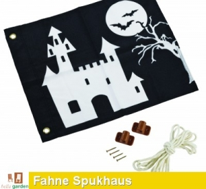 Fahne, Flagge - Hisssystem Spukhaus