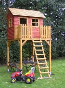 Stelzenhaus - Baumhaus Modell Goliath I, Kinderspielhaus