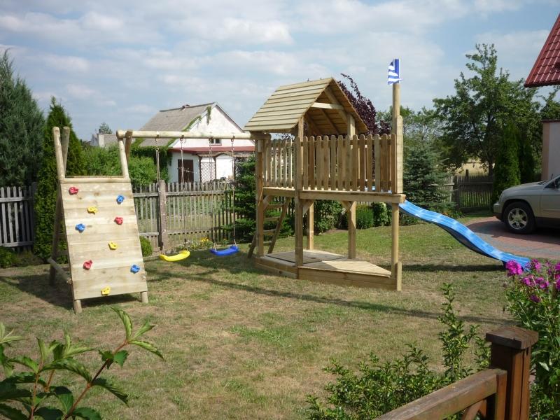 Gut bekannt Stelzenhaus - Spielturm Meik maxi mit Schaukel und Rutsche YT92