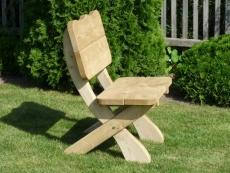 Holzstuhl Robert passend zu Gartenmöbel Garnitur Filip