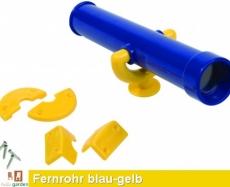 Teleskop - Fernrohr in blau/gelb TÜV geprüft