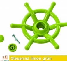Steuerrad, Lenkrad Schiff in limon grün TÜV geprüft