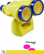 Fernglas aus HDPE in gelb/blau TÜV geprüft