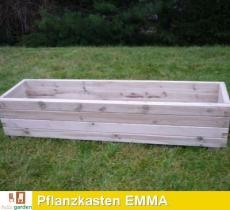 Pflanzkasten aus imprägniertem Kiefernholz Modell EMMA