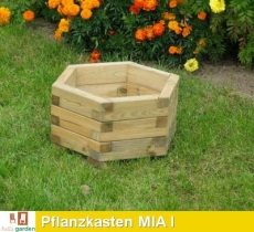Pflanzkasten aus imprägniertem Kiefernholz Modell MIA I