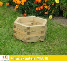 Pflanzkasten aus imprägniertem Kiefernholz Modell MIA III