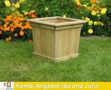 KOMBI Angebot Pflanzkasten IDA und JULIA