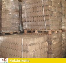 Holzbriketts aus Kiefer und gemischtem Hartholz TOP QUALITÄT