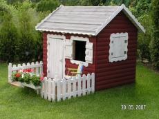 Stelzenhaus - Spielhaus  - Kinderspielhaus Tom auf Stelzen S