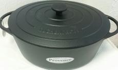 Küchenprofi Bratentopf Provence oval 35 cm Gusseisen