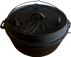 Feuertopf - Dutch Oven ft6 mit Standfüßen von Petromax