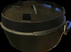 Feuertopf - Dutch Oven ft4,5 mit Standfüßen von Petromax
