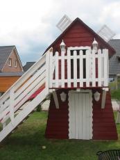 Kinderspielhaus - Spielhaus als Windmühle Louisa