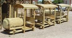 Spiellandschaft - Kindersitzgruppe als Zug Lukas